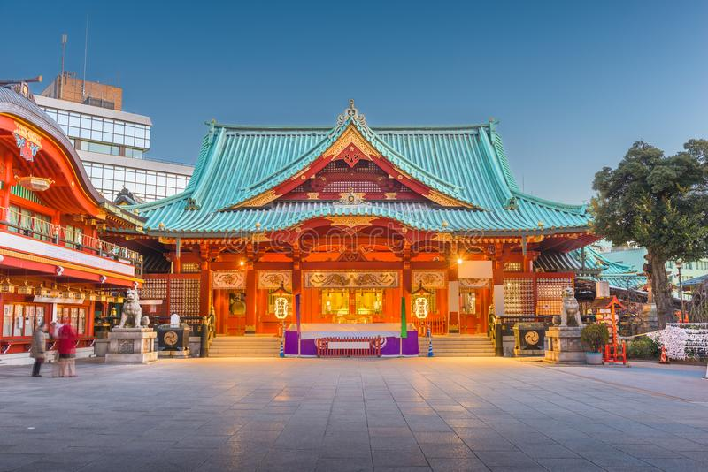 Kanda Shrine Tokyo Japan stock images