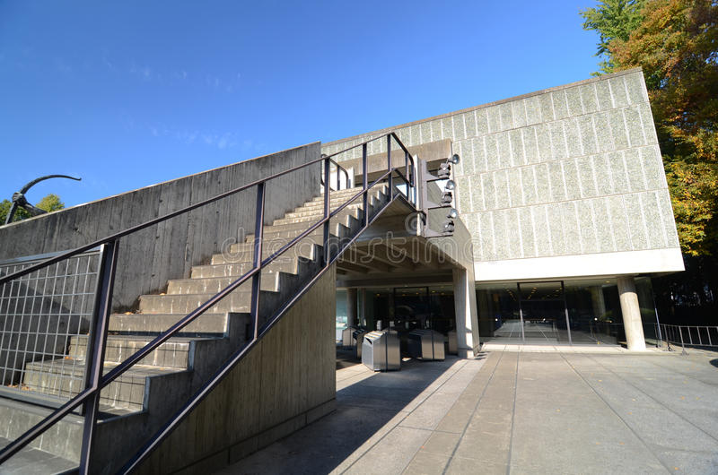 TOKYO, JAPAN - NOVEMBER 22: The National Museum of Western Art, stock photo
