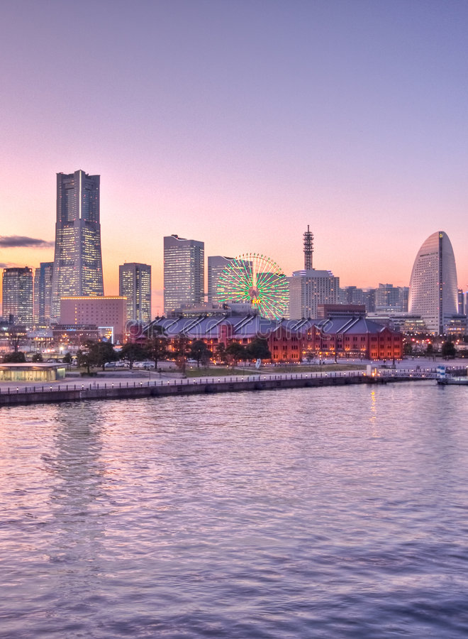 Free Tokyo Japan Ship At The Harbor Yokohama Stock Photos - 8389943