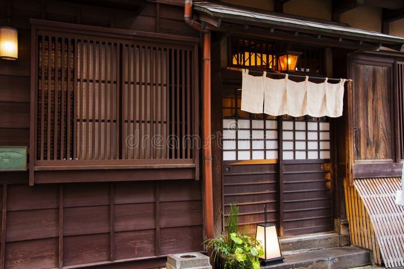 Japan, Tokyo, Ueno, Japanese architecture, wood production stock images