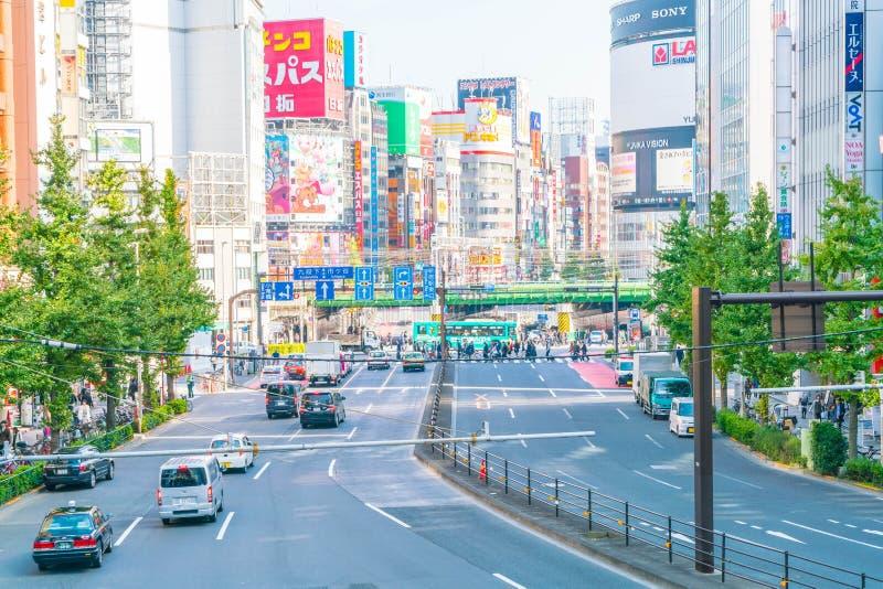 TOKYO, JAPAN - van 2016 17 Nov.: Shinjuku is één van busine van Tokyo royalty-vrije stock afbeeldingen