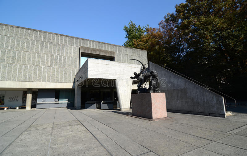 TOKYO, JAPON - 22 NOVEMBRE : Le Musée National de l'art occidental i image stock
