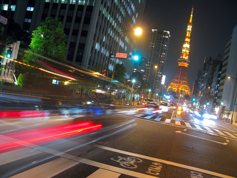 Tokyo-Kontrollturm stockbild