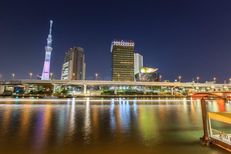 Tokyo la nuit images libres de droits
