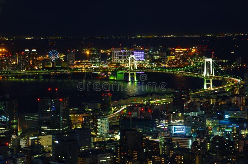 Tokyo la nuit image libre de droits