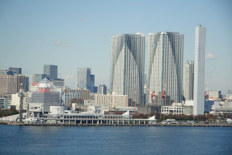 Tokyo landskap royaltyfri bild
