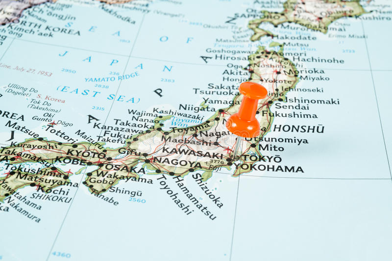Tokyo map stock image Image of classic journey focus 44091445