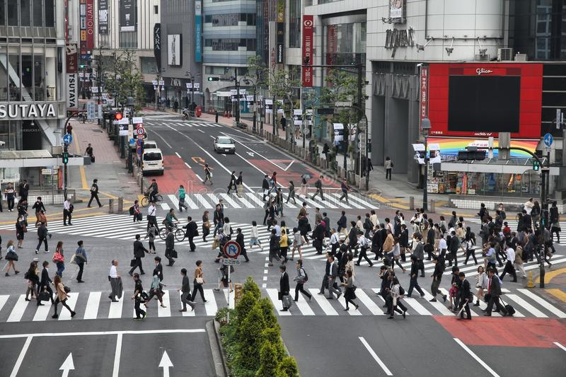 Download Tokyo editorial stock photo. Image of busy, urban, city - 34426153