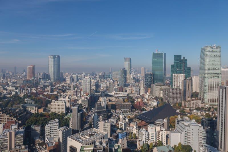 Tokyo Metro. The massive Tokyo Metropolis as viewed from Tokyo Tower royalty free stock photos