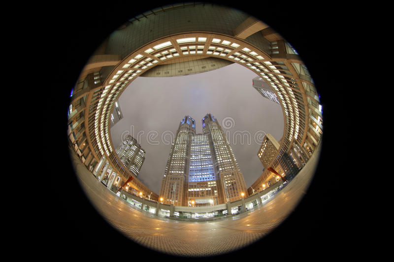 Tokyo Metropolitan Assembly Building. royalty free stock images