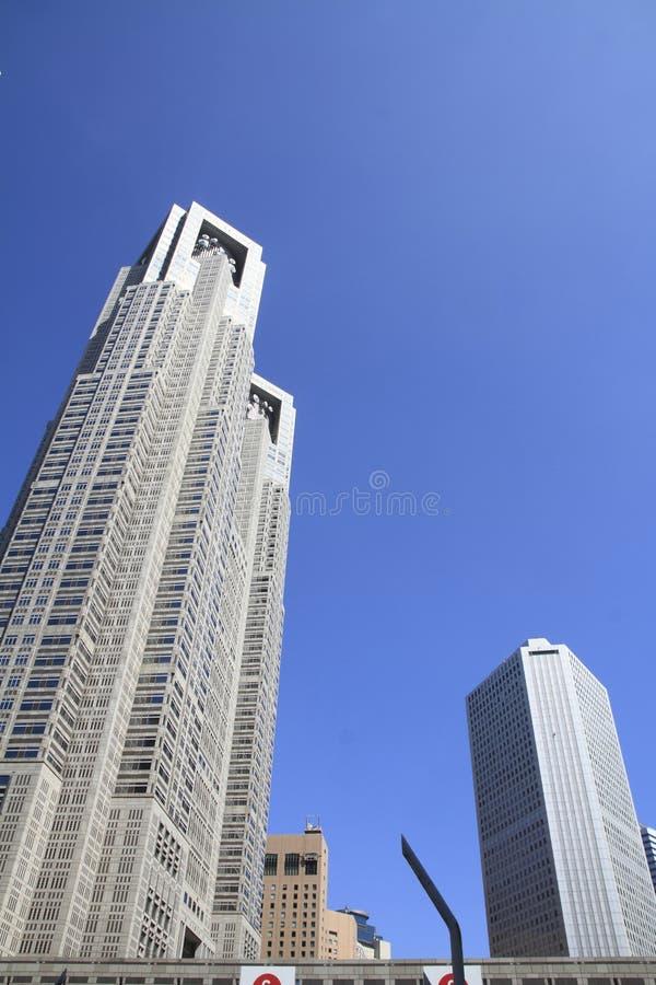 Tokyo metropolitan government office in Shinjuku, Japan. Tokyo metropolitan government office in Shinjuku, Tokyo, Japan stock photography