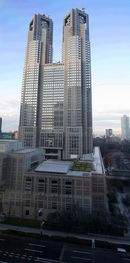 Tokyo-Metropolitanregierungsstelle lizenzfreies stockfoto