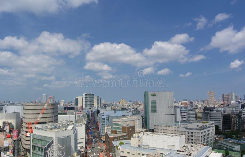 Tokyo moderna Giappone immagini stock libere da diritti