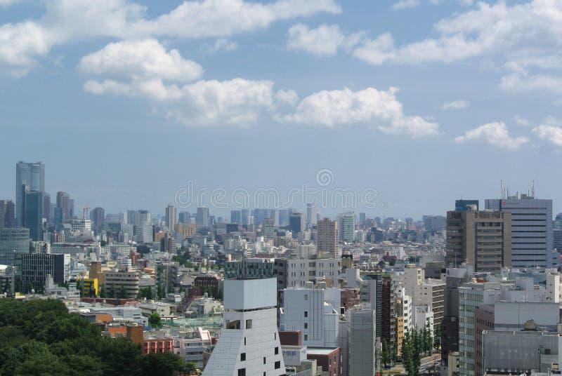 Tokyo moderna Giappone fotografia stock