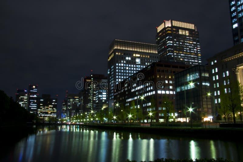 Tokyo-Nacht Japan lizenzfreie stockfotografie