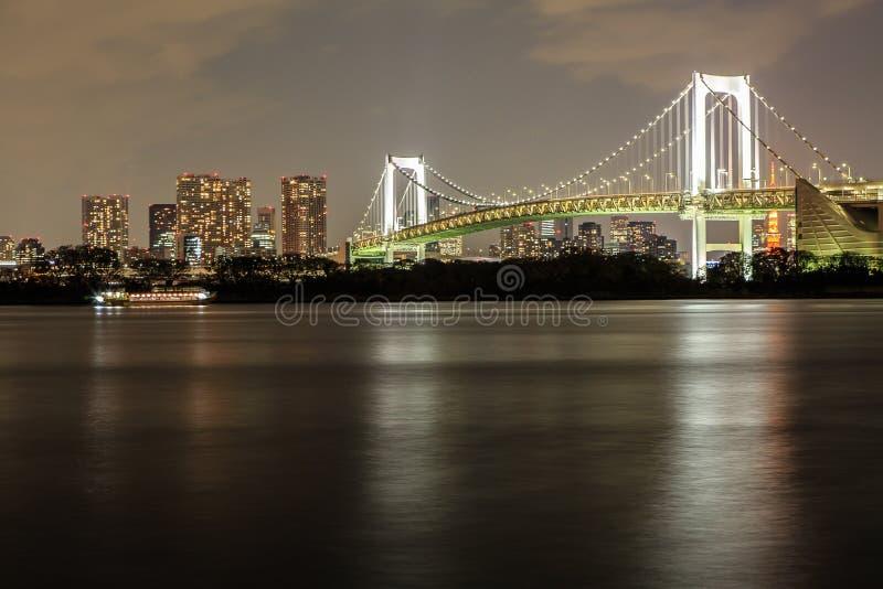 Tokyo at night royalty free stock photos