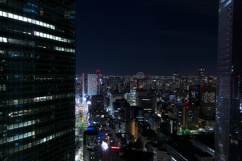 Tokyo by Night royalty free stock images