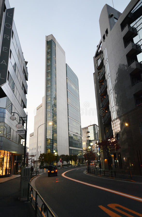 TOKYO - NOVEMBER 23: Skyscrapers Near Yoyogi Station Editorial Image