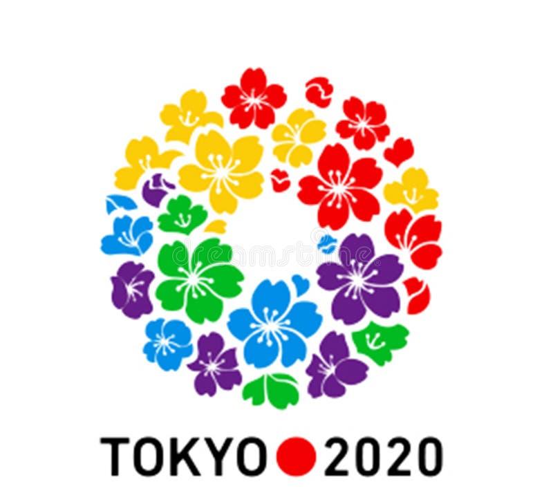 Tokyo Olympics 2020 logo vector illustration