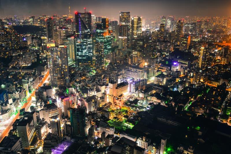 Tokyo par Night image stock