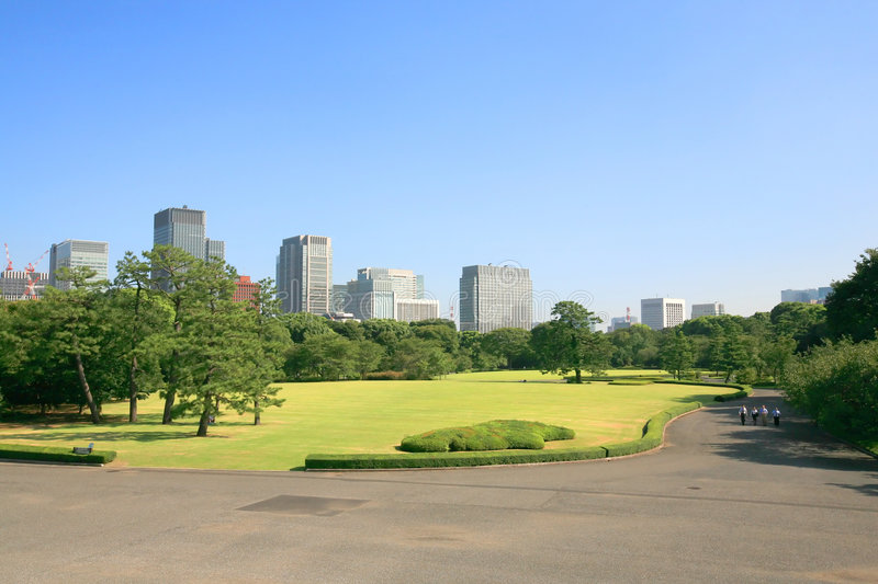 Tokyo Parc stock photography