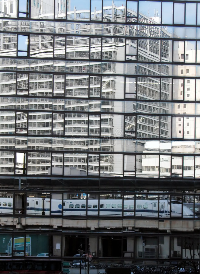 Download Tokyo reflections stock photo. Image of cityscape, industry - 101328