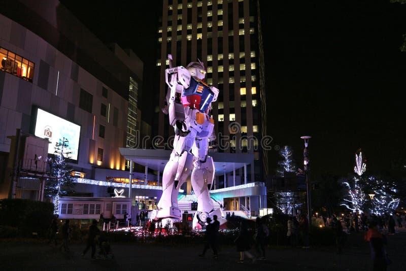 Tokyo robot royaltyfria foton