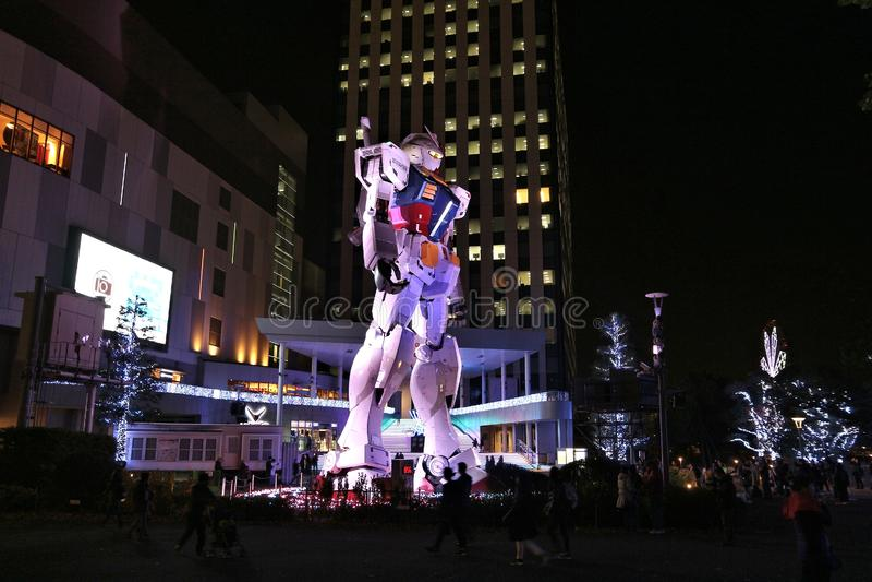 Tokyo robot royalty free stock photos