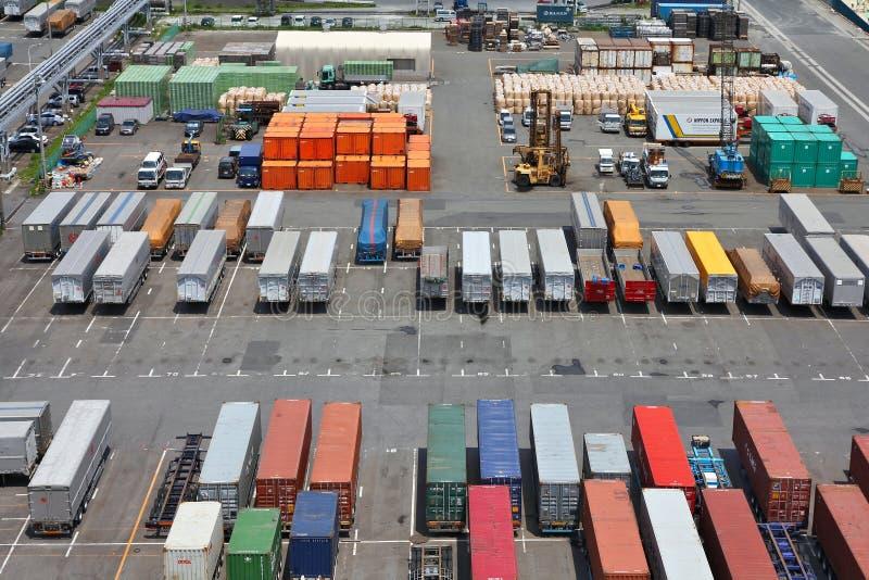 Tokyo seaport stock photography