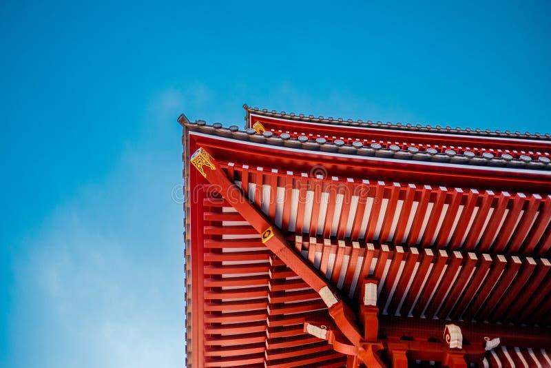 Tokyo - Sensoji-ji, tempio, Giappone immagini stock