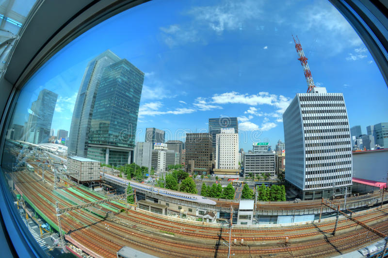 Tokyo Shinkansen fotografie stock libere da diritti