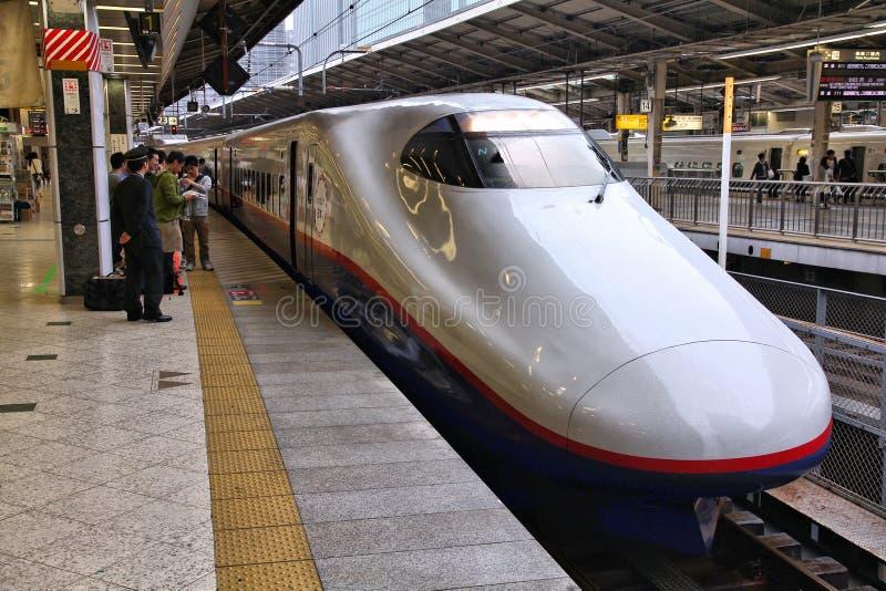 Tokyo Shinkansen stock images
