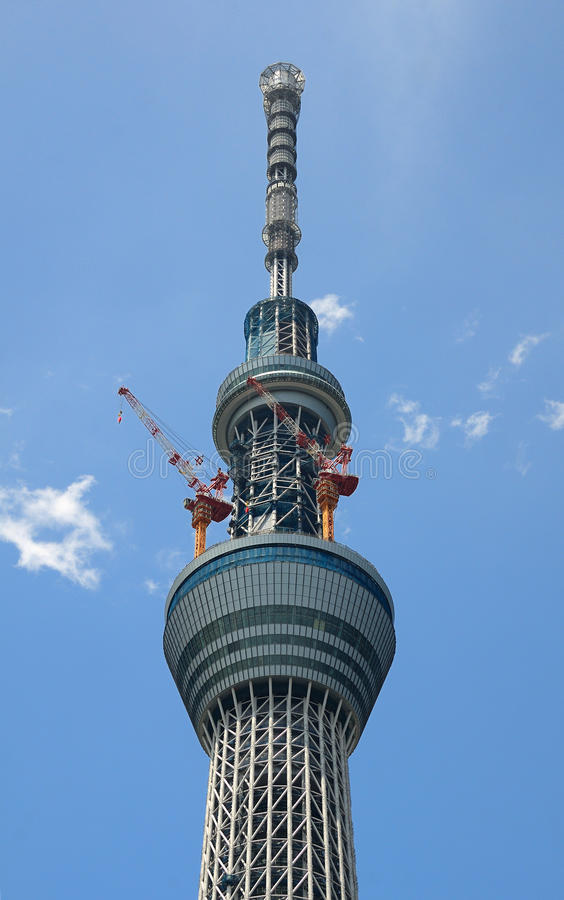 Tokyo Sky Tree Royalty Free Stock Images