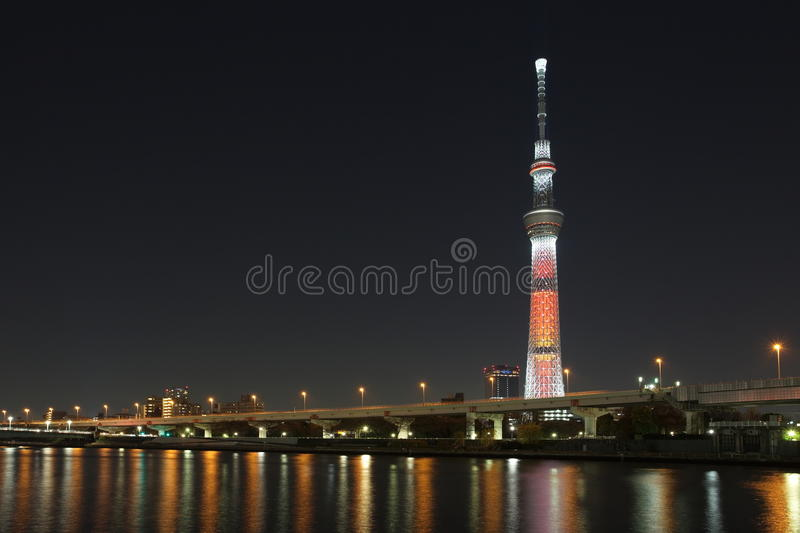 Download Tokyo sky tree stock image. Image of highest, japanese - 28459731