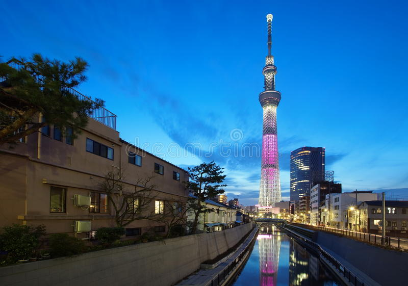 Download Tokyo sky tree stock image. Image of modern, business - 39511783