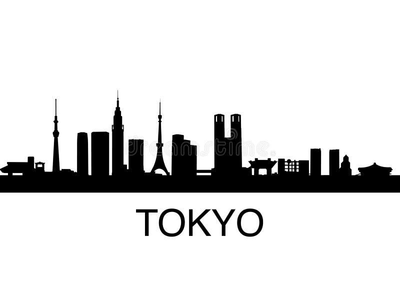 Tokyo-Skyline vektor abbildung