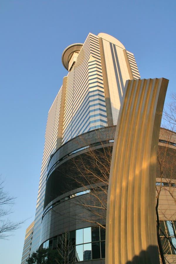 Tokyo-Skyline stockbilder