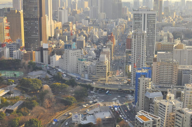 Download Tokyo Skyline Editorial Stock Photo - Image: 23302058
