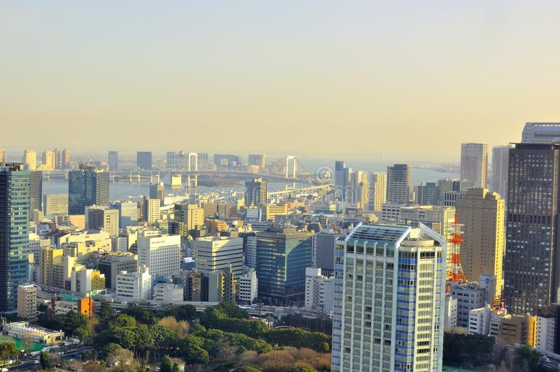 Download Tokyo Skyline editorial photo. Image of city, cars, apartment - 23302091