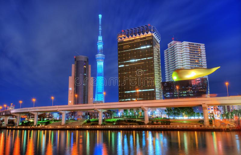 Download Tokyo Skyline At Asakusa Stock Photos - Image: 28824573