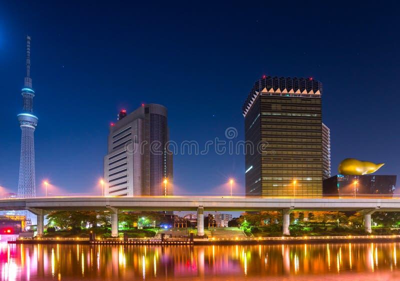 Tokyo skyline, Japan. royalty free stock photos