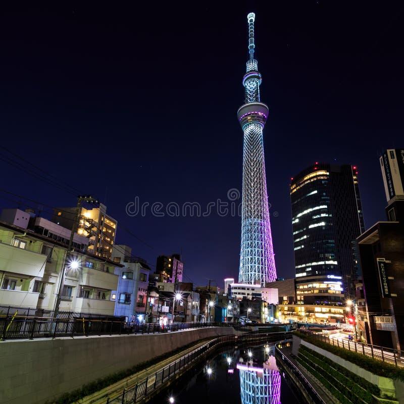 The Sky Tree, Tokyo Stock Photo. Image Of Cityscape