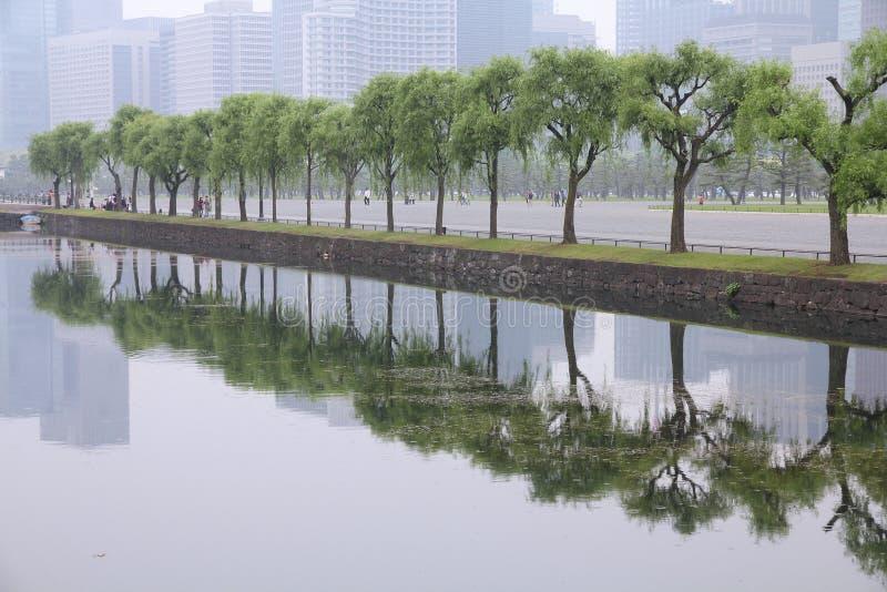 Tokyo-Smog stockbild