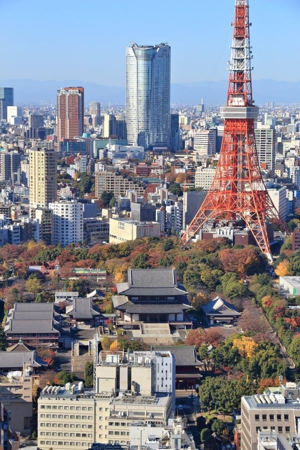 Tokyo stad, Japan royaltyfria bilder