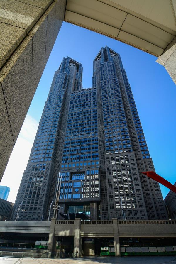 Tokyo-Stadtregierungs-Gebäude stockfoto