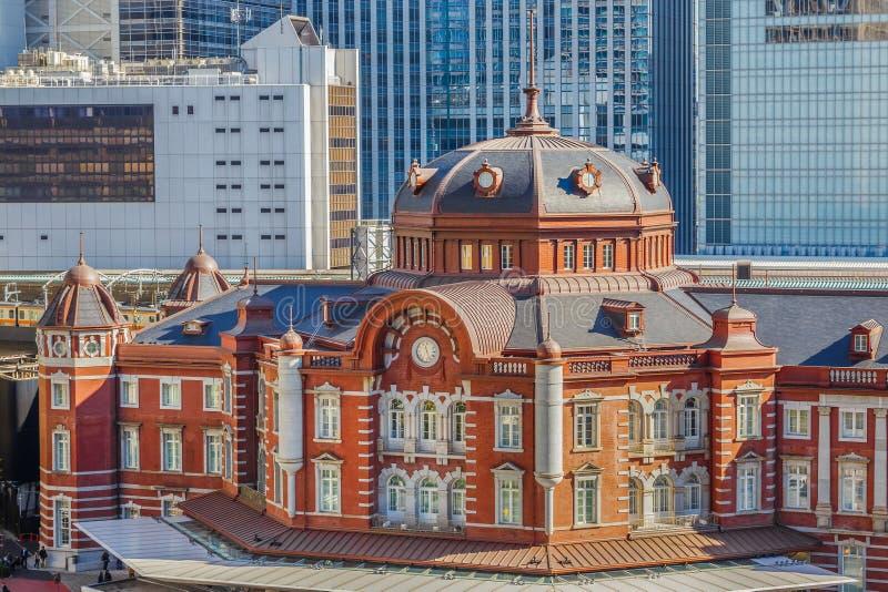 Tokyo station royaltyfria bilder