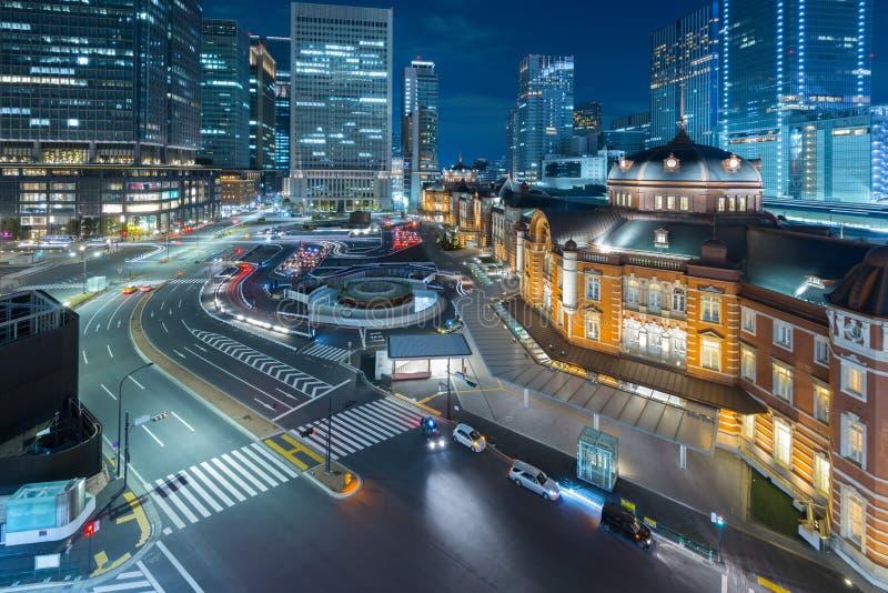 Tokyo station arkivfoto