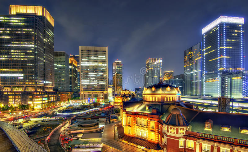Tokyo Station stock image