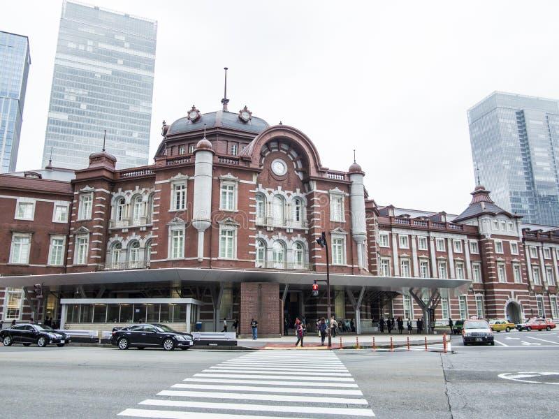 Tokyo station, Japan arkivbilder