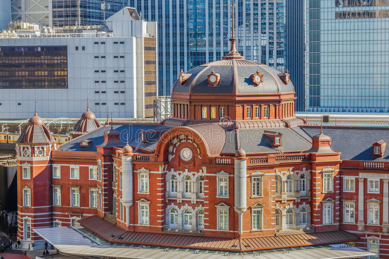 Tokyo Station royalty free stock images
